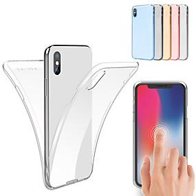 levne iPhone pouzdra-pouzdro pro iphone xs max xs 360 pouzdro tpu pro iphone xr 8 plus 8 7 plus 7 6 plus 6