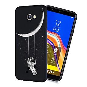 voordelige Galaxy J3 Hoesjes / covers-hoesje Voor Samsung Galaxy J7 (2017) / J6 (2018) / J5 (2017) Schokbestendig / Mat / Patroon Achterkant Hemel Zacht TPU