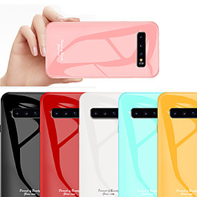 2eeb33d951a cheap Galaxy S Series Cases / Covers-Tempered Glass Phone Case for Samsung  Galaxy S10
