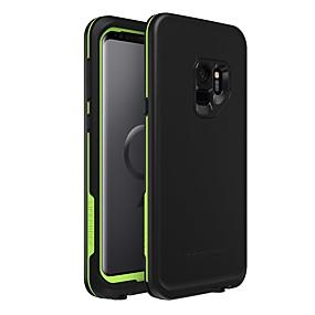 halpa Galaxy S -sarjan kotelot / kuoret-Etui Käyttötarkoitus Samsung Galaxy S9 Vedenkestävä / Iskunkestävä / Pölynkestävä Suojakuori Yhtenäinen Pehmeä TPU / silikageeli varten S9