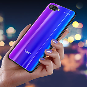 voordelige Huawei Honor hoesjes / covers-ultra dunne transparante telefoon case voor huawei honor 10 / honor 9 lite / honor 9i / honor 9 / honor 8x / honor 7x / honor v20 / honor v10 / v9 play / v9 plating zachte tpu siliconen full cover