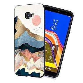 voordelige Galaxy J3 Hoesjes / covers-hoesje Voor Samsung Galaxy J7 (2017) / J6 (2018) / J5 (2017) Schokbestendig / Mat / Patroon Achterkant Landschap Zacht TPU