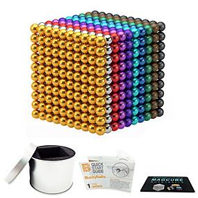 ieftine Jucării & Hobby-uri-216 pcs 3mm Jucării Magnet bile magnetice Lego Super Strong pământuri rare magneți Magnet Neodymium Magnet Neodymium Stres și anxietate relief Birouri pentru birou Reparații Pentru copii / Adulți