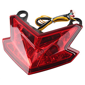 voordelige Auto-achterverlichting-led-verlichting motorfiets achterlicht richtingaanwijzers achterrem achterlicht voor kawasaki z800 13-16 geïntegreerde lichten