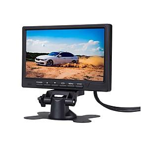 voordelige Auto-elektronica-7 inch auto monitor 800 * 480 tft kleuren lcd-scherm parkeerplaats monitor voor auto achteruit