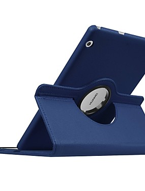 cheap Cell Phone Accessories-Case For Huawei MediaPad T3 10(AGS-W09, AGS-L09, AGS-L03) Full Body Cases Solid Colored Hard PU Leather for Huawei MediaPad T3 10(AGS-W09, AGS-L09, AGS-L03)