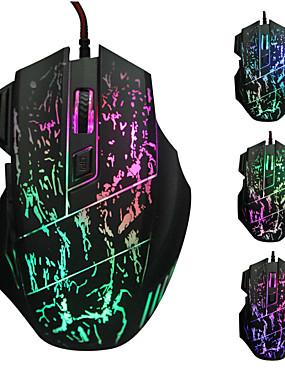 رخيصةأون أجهزة ماوس & لوحات مفاتيح-Factory OEM السلكي USB لعب الفأر مفاتيح ضوء LED 4 مستويات DPI قابلة للتعديل 6 مفاتيح قابلة للبرمجة