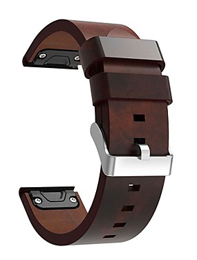 cheap Cell Phone Accessories-Watch Band for Fenix 5 / Fenix 5 Plus / Forerunner 935 Garmin Leather Loop Leather / Genuine Leather Wrist Strap