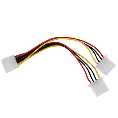 pc 1-til-2 strømkabel splitter