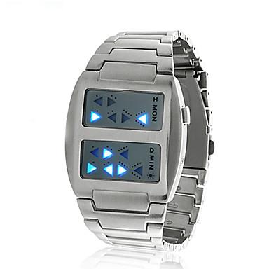 templar - relógio LED azul