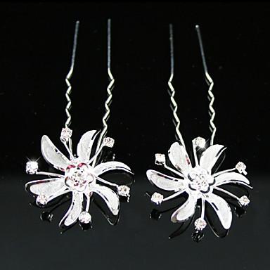 elmas sapanlar gelin pimleri / çiçekler, 2 parça klasik kadınsı stil