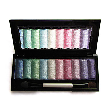 Amazing 10 Colors Eye Shadow Palette with Free Brush