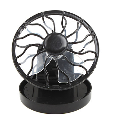 Solar Powered Clip-on Mini Cell Fan - Black