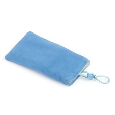 Trendy Cell Velvet Bag for iPhone (Blue)