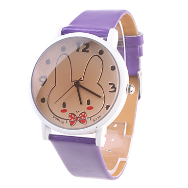 Women's Analog Quartz Wrist Watches (Purple)