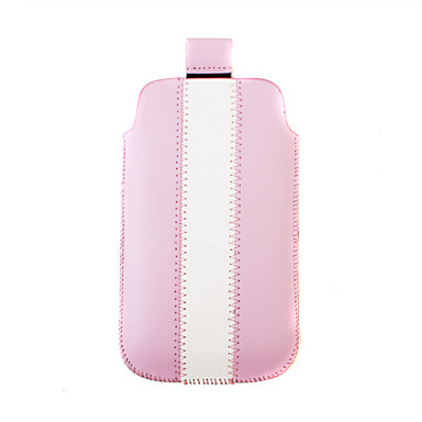 Premium Pretty PU Leather Case for iPhone 3G/4G (Pink)