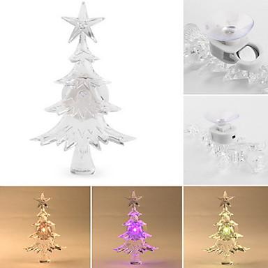 arbre de Noël de couleur lumière changeante conduit