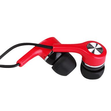 3,5 mm stereo enkelt parallel in-ear hovedtelefoner