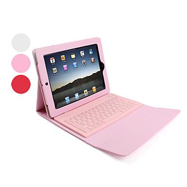 Estuche de Cuero Con Teclado Inalámbrico Bluetooth para iPad - Colores Surtidos