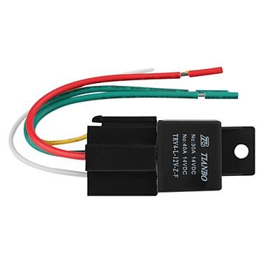 auto elektrisch relais, 12v 40a