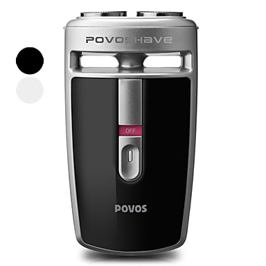 POVOS Floating Dual-Blade Electric Rotary Shaver