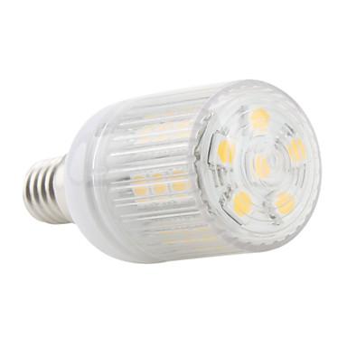 4W E14 LED a pannocchia T 27 SMD 5050 300 lm Bianco caldo AC 220-240 V