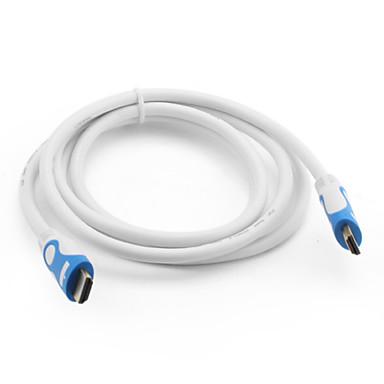 hdmi ver. 1,4 cabo para PS3 e Xbox 360 (1,8 m, od 7,3 milímetros, branco)