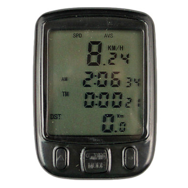 Bike Computer,Digital LCD Cycle Computer Bicycle Speedometer-563