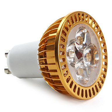 gu10 led spotlight mr16 4 yüksek güç açtı 360lm sıcak beyaz 3000k ac 85-265v