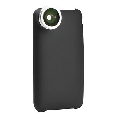 0.28x fisk øje tråd linse med ryggen Case for iPhone 3G og 3GS
