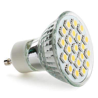 3.5 W- MR16 - GU10 - Spotlamper (Warm White 220 lm- AC 220-240
