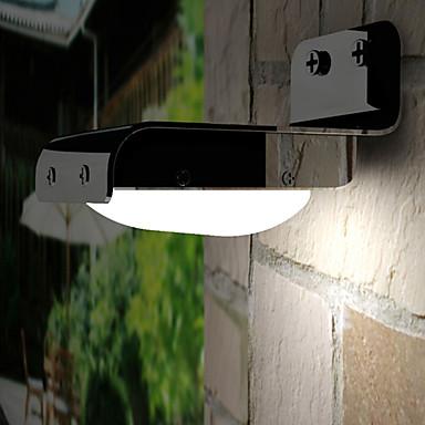 Duvar ışığı / Bahçe Işıklar 16 LED Boncuklar Sensör Serin Beyaz