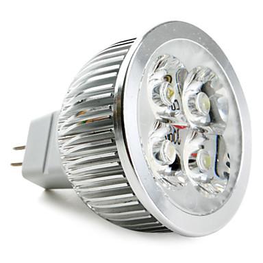 GU5.3(MR16) Lâmpadas de Foco de LED MR16 4 leds LED de Alta Potência Branco Natural 5000lm 5000KK DC 12V