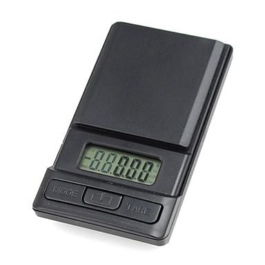 portable échelle numérique de poche (piles incluses, 0,1 g - 1000 g)