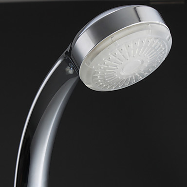 Cool ABS Chrome Finish LED Shower Head