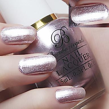 pintura ronda de botella de la luz de laca de uñas conjunto (15 ml * 3)