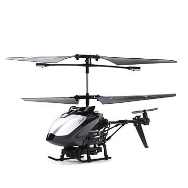 0.3 메가 픽셀 카메라 (검은 색)와 3.5 채널 원격 제어 헬기