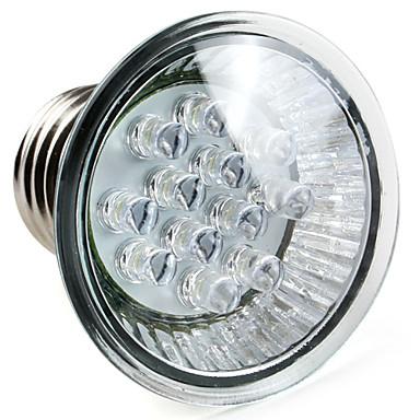 E26/E27 W 12 High Power LED 60 LM Natural White PAR Spot Lights AC 220-240 V