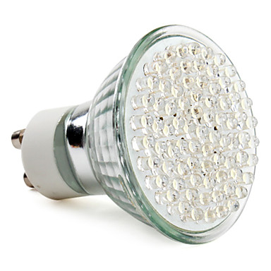 Focos MR16 GU10 W 78 LED de Alta Potencia 390 LM Blanco Natural AC 100-240 V