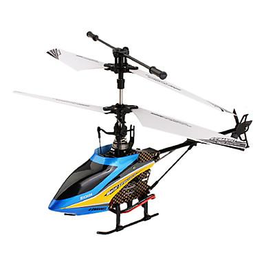 502c de la Serie F de 4 canales de aleación de la estructura de helicópteros de control remoto con giroscopio (azul)