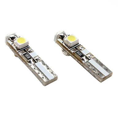 T5 Car White SMD 3528 6000 Instrument Light