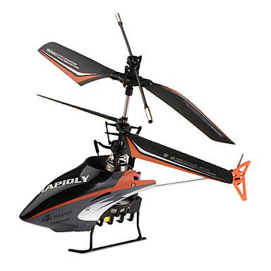 301C F-Series 4-Channel Mini Remote Control Helicopter (Black)