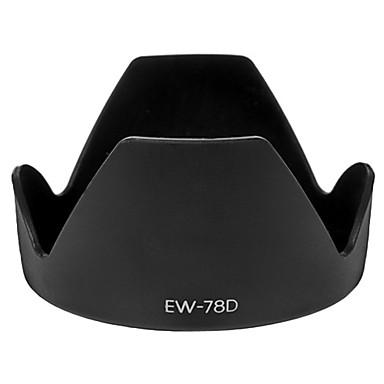 parasoleil EW-78D pour Canon EF-S 18-200mm f/3.5-5.6 est