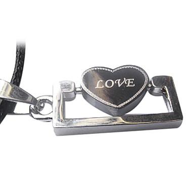 wenig Liebe Muster Halskette