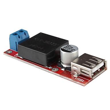 DC 7-24V to DC 5V USB Voltage Power Converter Module For DIY