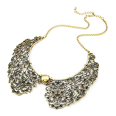 Women's Collar Necklace Vintage Necklace - Fashion Golden Necklace For Daily