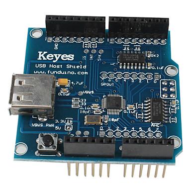 (Arduino için) (suppot google ADK) için USB host kalkan
