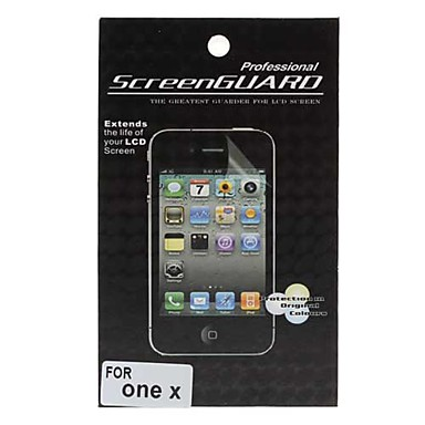 LCD screen protector voor HTC een x (transparant)