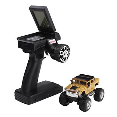 2115-1 beige voiture de course 1:43 2.4g avec écran lcd télécommande
