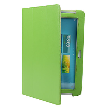 Case For Samsung Galaxy Samsung Galaxy Case with Stand Flip Full Body Cases Solid Color PU Leather for Note 10.1 Tab 2 10.1